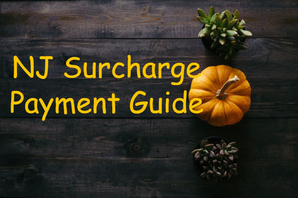 NJ Surcharge payment guide